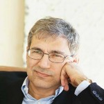 Orhan Pamuk. Photo by Simon Hurst.