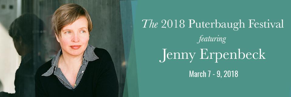 2018 Puterbaugh Fellow Jenny Erpenbeck