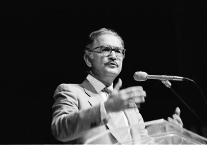 Carlos Fuentes, Miami Bookfair International, 1987