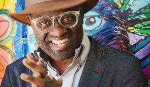 Alain Mabanckou. Photo by Shevaun Williams.